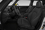 Front seat view of 2020 MINI MINI-Electric Cooper-SE-L 2 Door Hatchback Front Seat  car photos