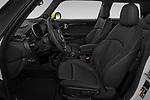 Front seat view of 2020 MINI MINI-Electric Cooper-SE-L 2 Door Hatchback Front Seat  car photos