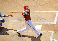 Apr. 12, 2009; Phoenix, AZ, USA; Arizona Diamondbacks shortstop Stephen Drew against the Los Angeles Dodgers at Chase Field. Mandatory Credit: Mark J. Rebilas-