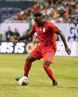 CHICAGO, IL - JULY 7: Jozy Altidore #17 during a game between Mexico and USMNT at Soldiers Field on July 7, 2019 in Chicago, Illinois.