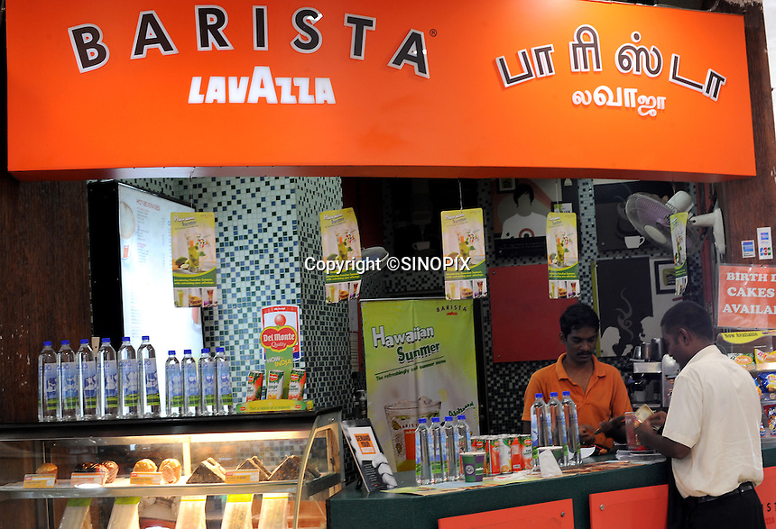 LAVAZZA Barista coffee shop in Madrid, India