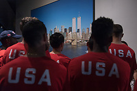 USMNT visits September 11th Memorial , September 5, 2018