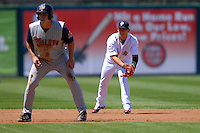 Infielder Jose Iglesias #10 of the Pawtucket Red Sox during a game versus the Toledo Mud Hens on May 1, 2011 at McCoy Stadium in Pawtucket, Rhode Island. Photo by Ken Babbitt /Four Seam Images