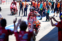 Pecco Bagnaia Ducati 2nd celebrates <br /> Jerez 03/05/2021 Spain MotoGP<br /> Photo Mediahouse.ducati.com / Insidefoto <br /> EDITORIAL USE ONLY