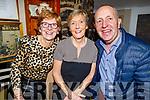 Bernie Mannix, Ann Sheehan and Ger Mannix enjoying the evening in the Brogue Inn on Saturday