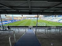 Innenraum Stadion am Boellenfalltor<br /> <br /> - 19.12.2020: Fussball 2. Bundesliga, Saison 20/21, Spieltag 13, SV Darmstadt 98 - Wuerzburger Kickers, Stadion am Boellenfalltor, emonline, emspor, <br /> <br /> Foto: Marc Schueler/Sportpics.de<br /> Nur für journalistische Zwecke. Only for editorial use. (DFL/DFB REGULATIONS PROHIBIT ANY USE OF PHOTOGRAPHS as IMAGE SEQUENCES and/or QUASI-VIDEO)