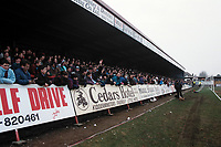 A bumper crowd looks on during Kidderminster Harriers vs West Ham United, FA Cup Football at the Aggborough Stadium on 19th February 1994
