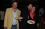UMBERTO ZOCCA, PAOLO COLUCCI E MARION FRANCHETTI<br /> VERNISSAGE JENNY SEVILLE - MACRO TESTACCIO ROMA 2005