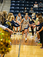 Maysa Willis (1) of Bentonville West being introduced at Wolverine Arena, Centerton,  AR, Tuesday, January 12, 2021 / Special to NWA Democrat-Gazette/ David Beach