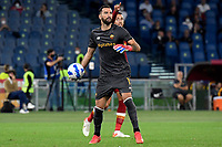 3rd October 2021; Stadio Olimpico, Rome, Italy; Serie A football, AS Roma versus Empoli; Rui Patrício of AS Roma puts the ball back into play