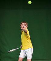 20131201,Netherlands, Almere,  National Tennis Center, Tennis, Winter Youth Circuit, ,Daniel Bernard  <br /> Photo: Henk Koster