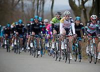 Liège-Bastogne-Liège 2013..Gaëtan Bille (BEL) in the pack