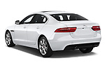 Car pictures of rear three quarter view of a 2019 Jaguar XE  Base 4 Door Sedan angular rear