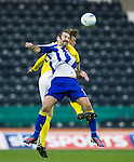 Kilmarnock v St Johnstone..24.11.12      SPL.Gary Harkins and Murray Davidson.Picture by Graeme Hart..Copyright Perthshire Picture Agency.Tel: 01738 623350  Mobile: 07990 594431