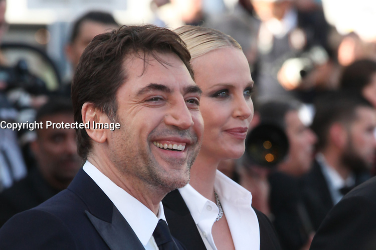 JAVIER BARDEM AND CHARLIZE THERON - RED CARPET OF THE FILM 'THE LAST FACE' AT THE 69TH FESTIVAL OF CANNES 2016