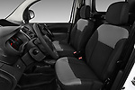 Front seat view of a 2018 Renault Kangoo ZE Maxi ZE 2 places 4 Door Car van front seat car photos