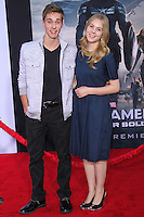 """HOLLYWOOD, LOS ANGELES, CA, USA - MARCH 13: Austin North, Lauren North at the World Premiere Of Marvel's """"Captain America: The Winter Soldier"""" held at the El Capitan Theatre on March 13, 2014 in Hollywood, Los Angeles, California, United States. (Photo by Xavier Collin/Celebrity Monitor)"""