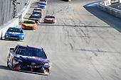 #11: Denny Hamlin, Joe Gibbs Racing, Toyota Camry FedEx Express, #12: Ryan Blaney, Team Penske, Ford Fusion PPG