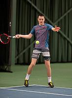 March 15, 2015, Netherlands, Rotterdam, TC Victoria, NOJK, Deney Wassermann (NED)<br /> Photo: Tennisimages/Henk Koster