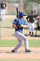 Scott Schebler - Los Angeles Dodgers - 2010 Instructional League.Photo by:  Bill Mitchell/Four Seam Images..