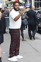 NEW YORK, NY- OCTOBER 14: Anthony Anderson seen at an appearance on Good Morning America and Strahan, Sara & Keke promoting Black-ish at ABC Studios in New York City on October 14, 2019. Credit: RW/MediaPunch