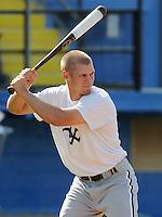 July 22, 2009: Outfielder Brady Shoemaker (13) of the Bristol White Sox, rookie Appalachian League affiliate of the Chicago White Sox, prior to a game at Burlington Athletic Stadium in Burlington, N.C. Photo by: Tom Priddy/Four Seam Images