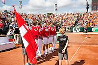 15-09-12, Netherlands, Amsterdam, Tennis, Daviscup Netherlands-Suisse, Suisse team