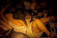art par Diego Rivera,<br /> Mexique<br /> <br /> (date inconnue)<br /> <br /> PHOTO : Michel Faugere Publiphoto- Agence Quebec Presse