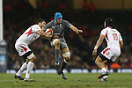Justin Tipuric<br /> <br /> Dove Men Series 2013<br /> Wales v Tonga<br /> Millennium Stadium - Cardiff<br /> 22.11.13<br /> ©Steve Pope-SPORTINGWALES