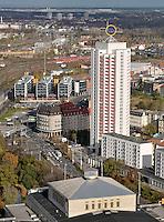 Stadtansichten 2009 - Blick vom Cityhochhaus / Uniriese auf Wintergartenhochhaus - Georgiring - Oper Leipzig. Foto: Norman Rembarz..Norman Rembarz , ( ASV-Autorennummer 41043728 ), Holbeinstr. 14, 04229 Leipzig, Tel.: 01794887569, Hypovereinsbank: BLZ: 86020086, KN: 357889472, St.Nr.: 231/261/06432 - Jegliche kommerzielle Nutzung ist honorar- und mehrwertsteuerpflichtig! Persönlichkeitsrechte sind zu wahren. Es wird keine Haftung übernommen bei Verletzung von Rechten Dritter. Autoren-Nennung gem. §13 UrhGes. wird verlangt. Weitergabe an Dritte nur nach  vorheriger Absprache..