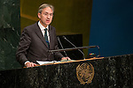 Austria<br /> <br /> General Assembly Seventy-first session, 33rd plenary meeting<br /> 1. Report of the International Court of Justice [item 70] (a) Report of the International Court of Justice (A/71/4) (b) Report of the Secretary-General (A/71/339) <br /> 2. Organization of work, adoption of the agenda and allocation of items: second report of the General Committee (A/71/250/Add.1) [item 7] <br /> 3. Programme planning: report of the Fifth Committee (A/71/545) [item 135]<br /> 4. Review of the efficiency of the administrative and financial functioning of the United Nations; Report on the activities of the Office of Internal Oversight Services: report of the Fifth Committee (A/71/548) [items 133 and 144]