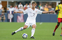 Robbie Rogers kicks the ball. USA defeated Grenada 4-0 during the First Round of the 2009 CONCACAF Gold Cup at Qwest Field in Seattle, Washington on July 4, 2009.