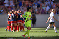 Houston, TX - Sunday Oct. 09, 2016: Sabrina D'Angelo during a National Women's Soccer League (NWSL) Championship match between the Washington Spirit and the Western New York Flash at BBVA Compass Stadium.