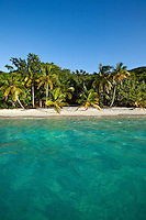 Salomon beach, Virgin Islands National Park, St. John<br /> U.S. Virgin Islands
