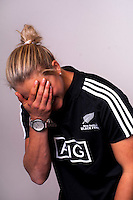Chelsea Alley. New Zealand Black Ferns headshot outtakes at The Rugby Institute, Palmerston North, New Zealand on Thursday, 28 May 2015. Photo: Dave Lintott / lintottphoto.co.nz