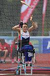IPC European Athletics Championship 2014<br /> Josie Pearson GBR<br /> Women's Club Throw F32/51<br /> Swansea University<br /> <br /> 21.08.14<br /> ©Steve Pope-SPORTINGWALES