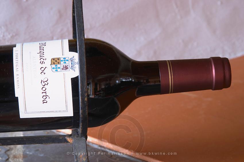 Bottle holder. J Portugal Ramos Vinhos, Estremoz, Alentejo, Portugal