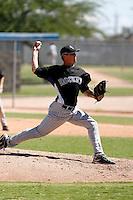 Chris Balcom-Miller - Colorado Rockies 2009 Instructional League .Photo by:  Bill Mitchell/Four Seam Images..