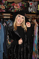 One Life To Live and General Hospital's Kristen Alderson wearing Jane Elissa Hat - The 31st Annual Jane Elissa Entertainment Extravaganza to benefit Leukemia, Cancer Research and Broadway Cares Equity Fights Aids on November 5, 2018 at the New York Marriott Marquis, New York City, New York.  (Photo by Sue Coflin/Max Photos)