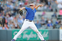 Chris Rusin #21 of the Iowa Cubs throws against the Omaha Storm Chasers at Principal Park on July 2, 2014 in Des Moines, Iowa. The Cubs  beat Storm Chasers 4-3.   (Dennis Hubbard/Four Seam Images)