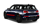 Car pictures of rear three quarter view of 2019 MINI Clubman John-Cooper-Works-ALL4 5 Door Wagon Angular Rear