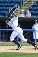 Staten Island Yankees outfielder Daniel Lopez #51 during a game against the Connecticut Tigers on July 7, 2013 at Richmond County Bank Ballpark in Staten Island, New York.  Staten Island defeated Connecticut 6-2.  (Mike Janes/Four Seam Images)