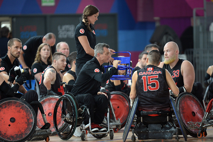 Lima 2019 - Wheelchair Rugby // Rugby en fauteuil roulant.<br />