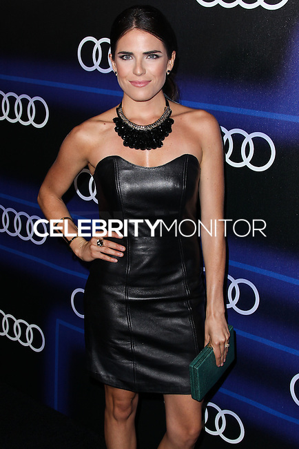 WEST HOLLYWOOD, CA, USA - AUGUST 21: Karla Souza at the Audi Emmy Week Celebration 2014 held at Cecconi's Restaurant on August 21, 2014 in West Hollywood, California, United States. (Photo by Xavier Collin/Celebrity Monitor)
