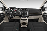 Stock photo of straight dashboard view of a 2014 Ram Ram Cargo Van Tradesman 4 Door Cargo Van Dashboard