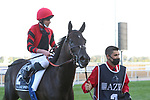 March 27, 2021: EXTRAVAGANT KID #2 ridden by Ryan Moore wins The Group 1 Al Quoz Sprint for Brendan Walsh on Dubai World Cup Day, Meydan Racecourse, Dubai, UAE. Shamela Hanley/Eclipse Sportswire/CSM