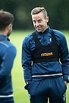 St Johnstone Training…04.07.17<br />Steven MacLean pictured talking with Richie Foster during training this morning before flying out to Lithunania for Thursday nights Europa League second leg qualifyer ahainst FK Trakai.<br />Picture by Graeme Hart.<br />Copyright Perthshire Picture Agency<br />Tel: 01738 623350  Mobile: 07990 594431