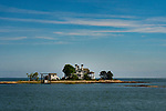 Linden Avenue, Branford, CT.Thimble Island mansion. Long Island Sound