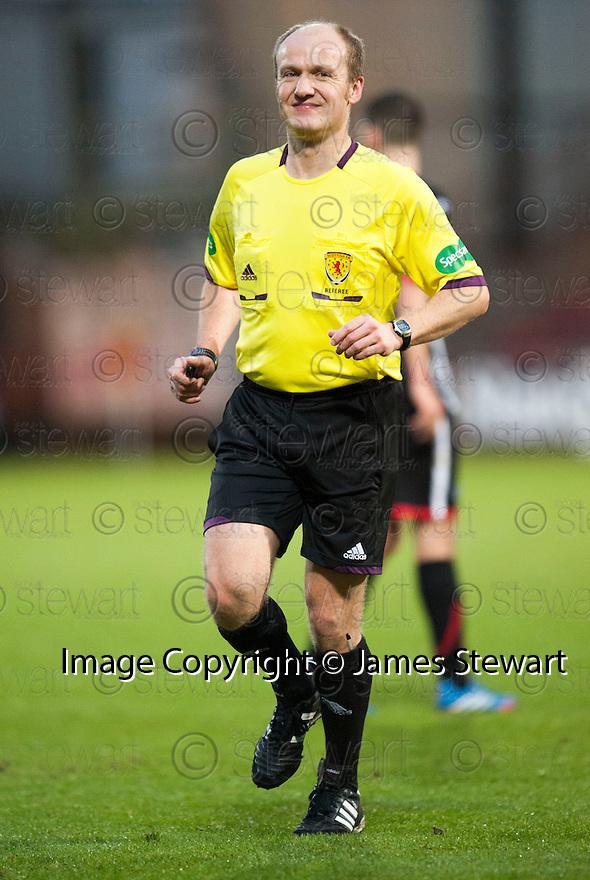 Referee Matt Northcroft.