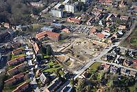 Ortszentrum Wentorf Umbau: EUROPA, DEUTSCHLAND, SCHLESWIG- HOLSTEIN, REINBEK, WENTORF (GERMANY), 15.03.2016:  Ortszentrum Wentorf Umbau